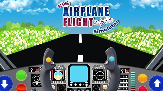 Kids Airplane Flight Simulator