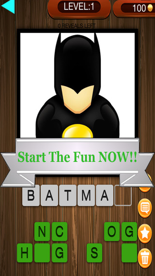 Guess The World of Amazing Superheroes and Warriors Trivia Quiz Game - Free Game
