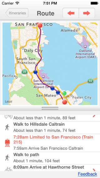 Nimbler Caltrain - Navigate by train bike bus and Uber from San Francisco to Gilroy