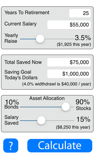 Retirement Savings Calculator