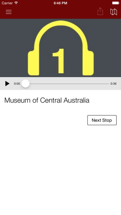 Museum of Central Australia iPhone Screenshot 3