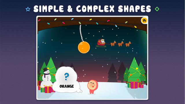 Icky Color and Shapes Playtime Free Christmas Edition