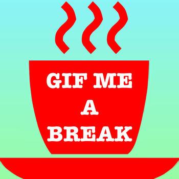 Gif Me A Break: #1 Best Gif Messenger 娛樂 LOGO-玩APPs