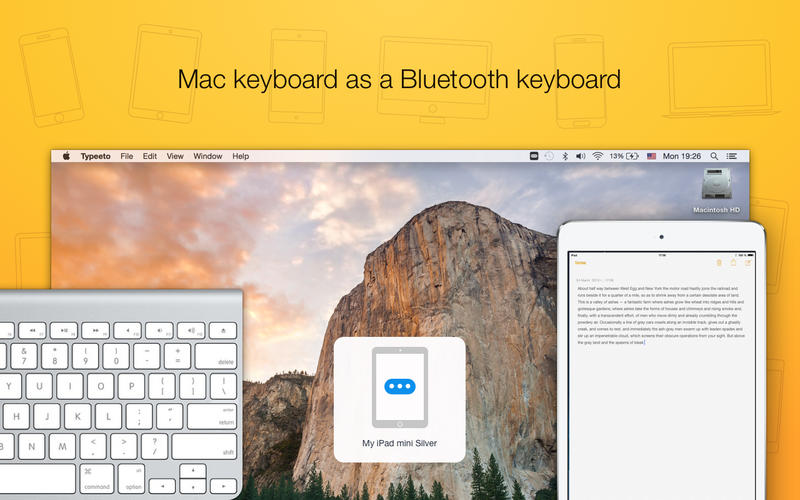 Typeeto: remote full size bluetooth keyboard Screenshots