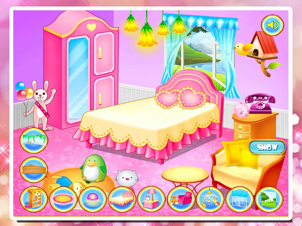 app shopper baby bedroom decoration games