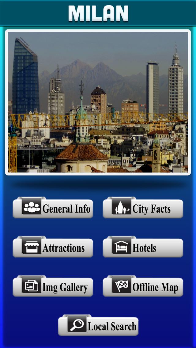 Milan City Offline Tourism Guide