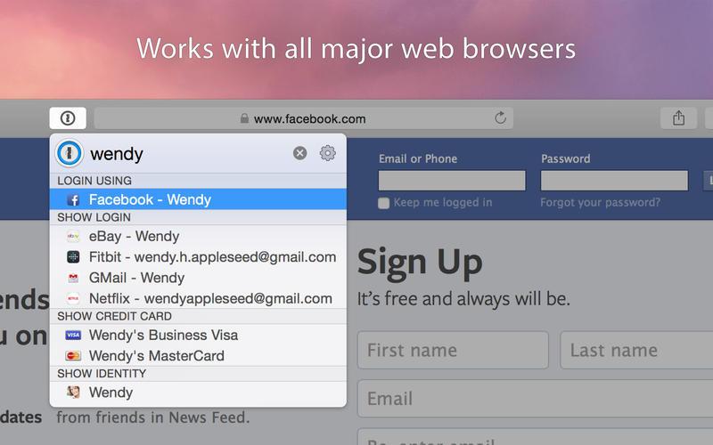 1Password 7.2.1 Mac 破解版 – 最强大的密码管理工具-爱情守望者