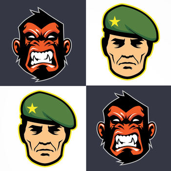 Ultimate Combat and Survival of Apes: Army Age of Purge Tiles Maze LOGO-APP點子