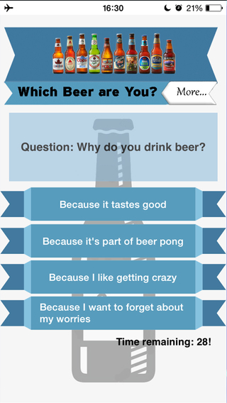 What beer are you