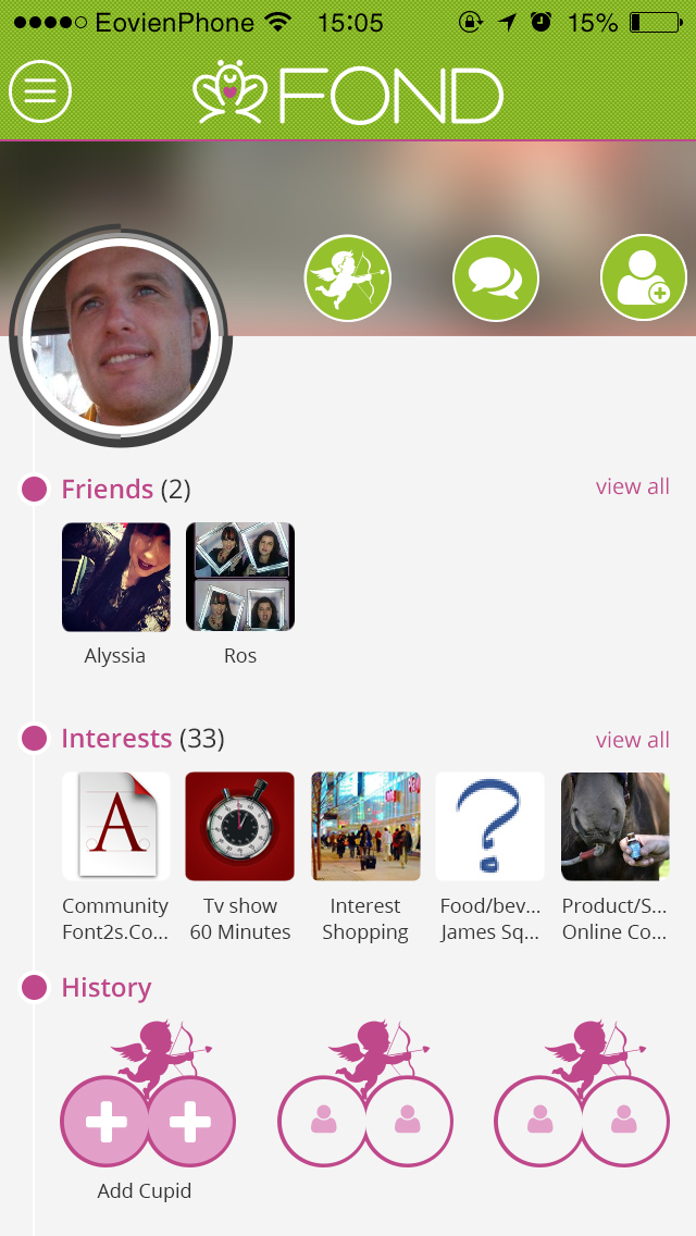 Friendship dating app