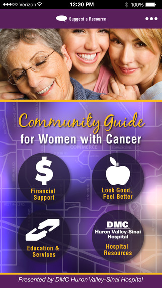 Community Guide for Women with Cancer: Presented by DMC Huron Valley-Sinai Hospital