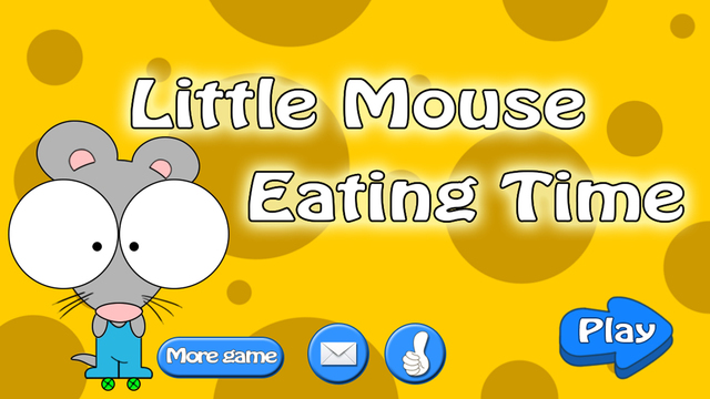 Little mouse cheese eating time