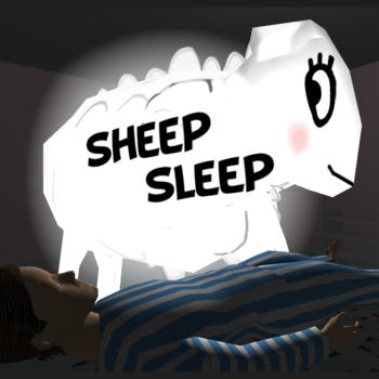 Sheep Sleep, A Hardcore Game Hell.. Learn to count sheep to help the boy deepen his dream. 遊戲 App LOGO-硬是要APP