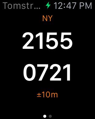 Tom's GPS iPhone Screenshot 6