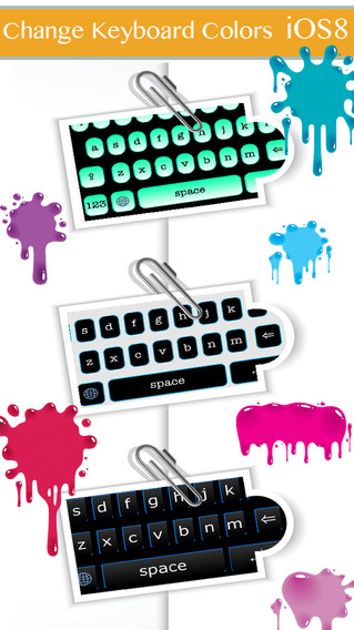 Color KeyBoards for iOS8 - Full customization