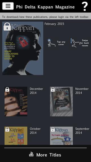 Phi Delta Kappan Magazine