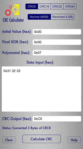 CRC Calculator - Checksum Generator