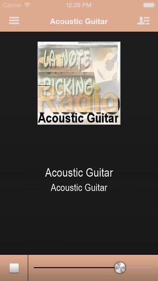 Acoustic Guitar App