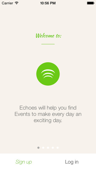 Echoes - Innovative Event Base Connecting People with The World for Free