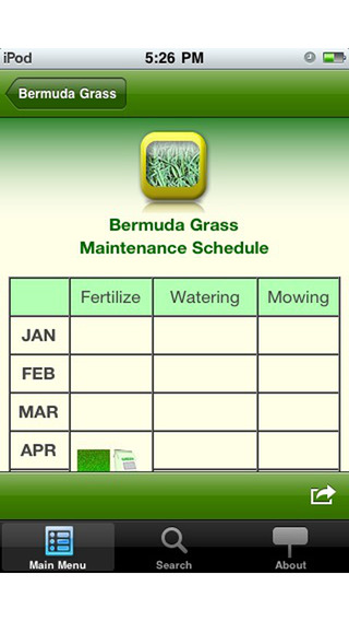 GrassMaster iPhone Screenshot 5