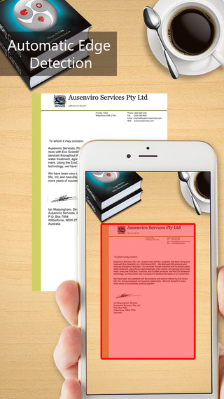 Fax Scanner Lite - Auto pdf document reader app