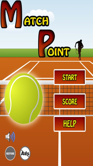 Match Point - Touch 'n Hit Tennis Game