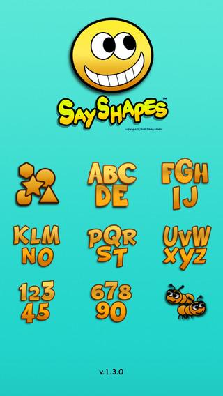 Say Shapes