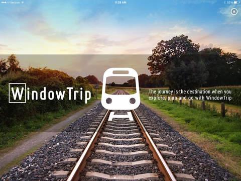 WindowTrip: Rail Journeys