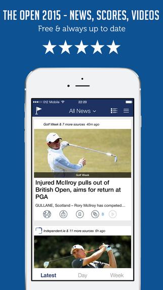 Sportfusion - The Open Championship British Open 2015 News Edition