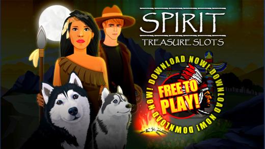 Spirit Treasure Slots- Best 777 Casino Slots Bonanza Game FREE