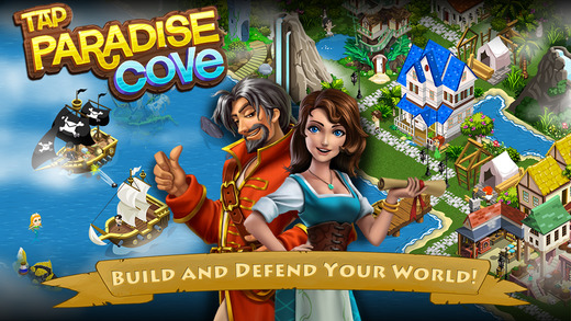 Tap Paradise Cove: Treasure Islands and Pirate Ships