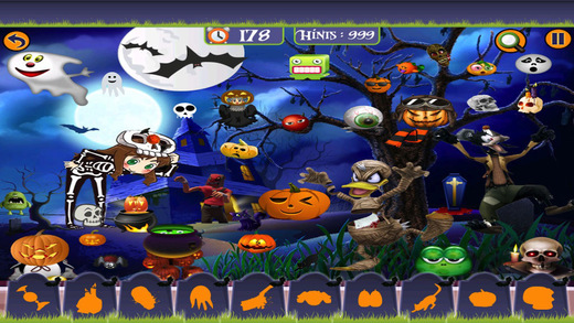 Halloween Horror Hidden Objects