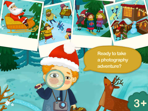 Tiny People Christmas Hidden Objects Search game