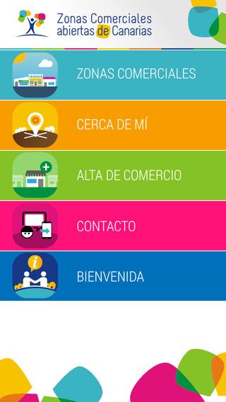 Zonas Comerciales Abiertas Gobierno de Canarias