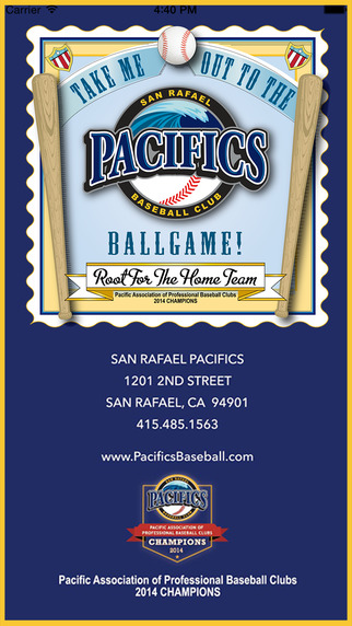 San Rafael Pacifics Official Mobile App