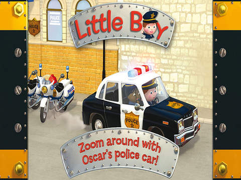 Little Boy – Oscar's Police Car