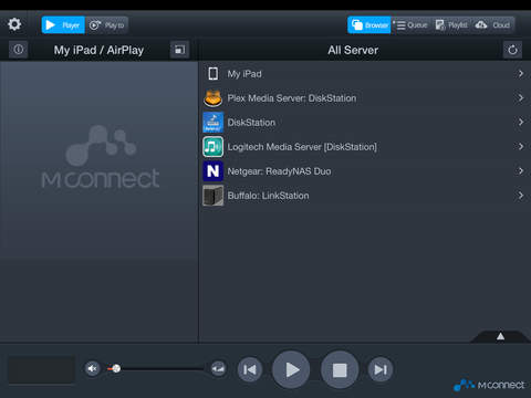 mconnect control HD