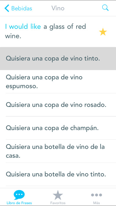 Traductor inglés iPhone Screenshot 3