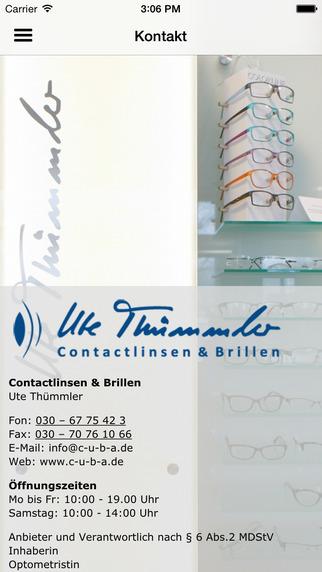 Ute Thümmler - Brillen und Contactlinsen