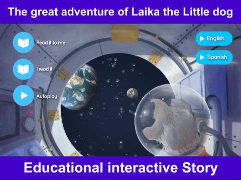 Laika the Little Astronaut Dog – Interactive Storybook for Children