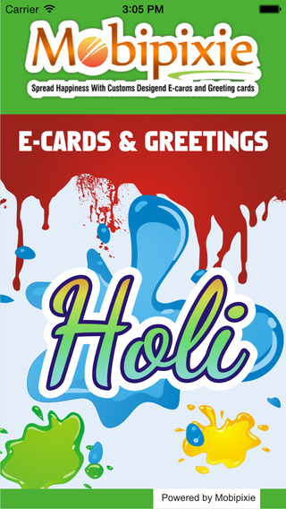 Free Holi eCards Greetings