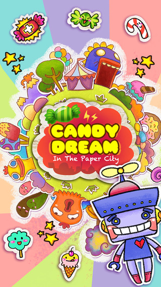 Candy Dream: Paper City