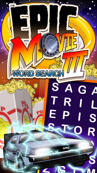 Epic Movie Word Search 3 - giant wordsearch puzzle trilogy