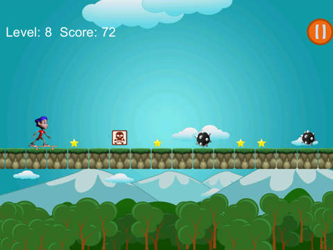 Funky Skater Boy City Racer screenshot 1