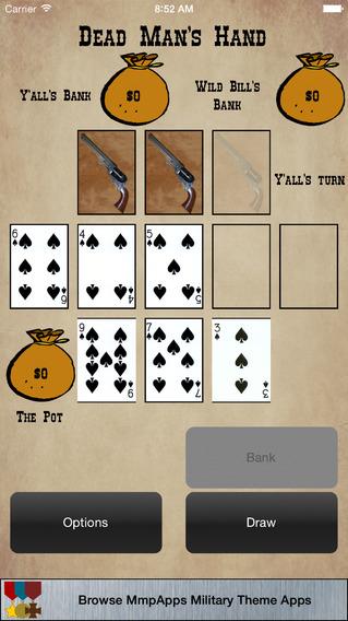 Dead Man's Hand - Wild West Poker Game