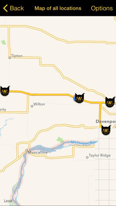 CAT Scale Locator iPhone Screenshot 5