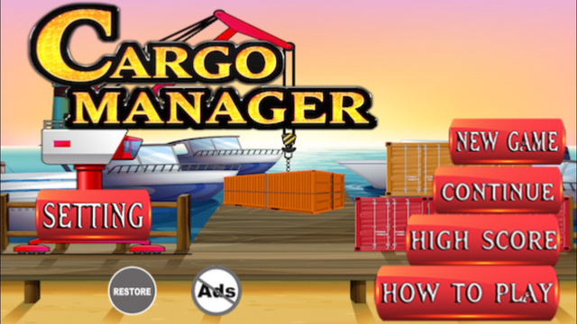 Cargo Manager : Master Those Harbor Containers