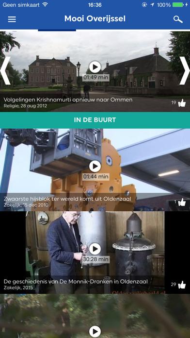Mooi Overijssel Hét platform voor oud en nieuw videomateriaal van de provincie Overijssel.