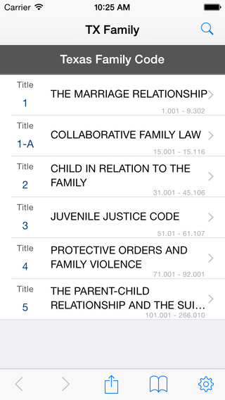 TX Family Code Texas Law Statutes
