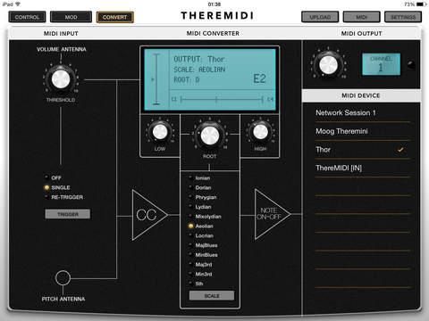 ThereMIDI Screenshots